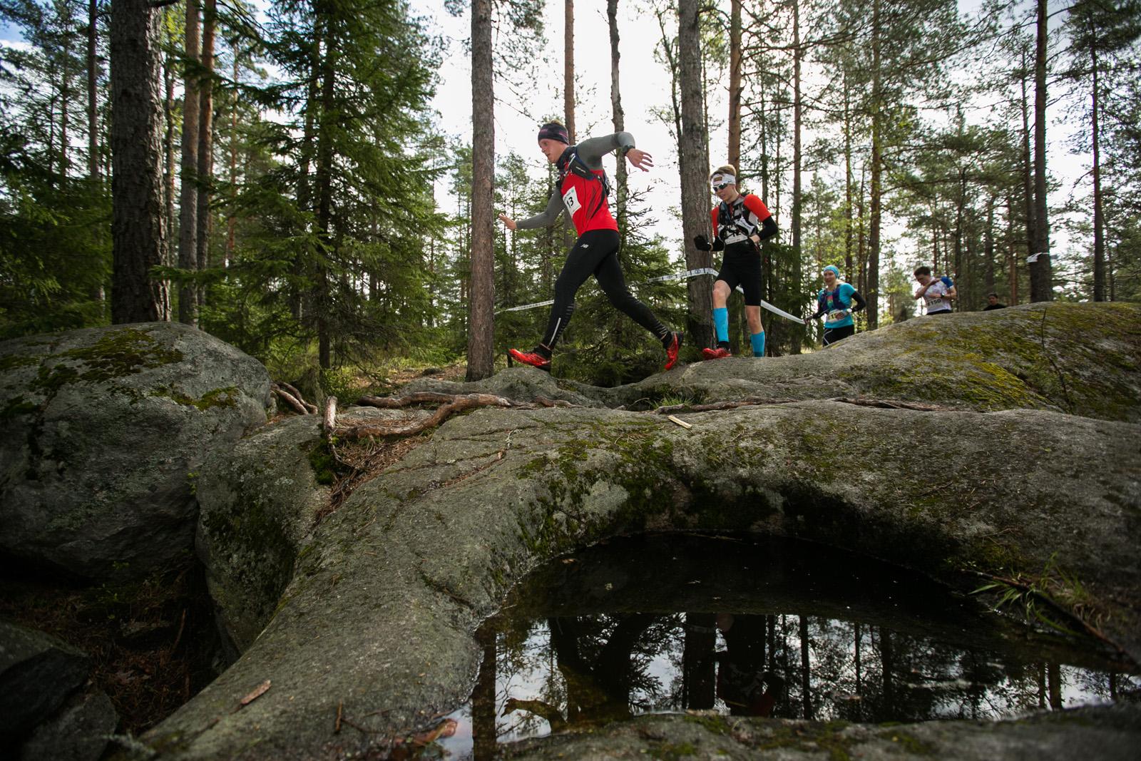 Bodom Trail: Juoksijoita hiidenkirnujen äärellä - Pirttimäki, Espoo, 14.5.2015
