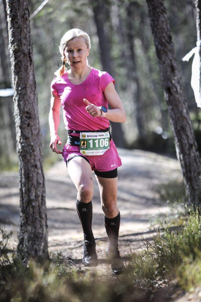 Naisten päämatkan voittaja Maija Oravamäki Kuva: Juha Saastamoinen, OneVision